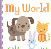 My World: 3 x 3 x .5 inches (Chunky Board Book)
