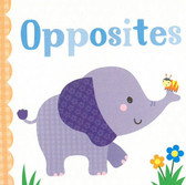 Opposites: 3 x 3 x .5 inches (Chunky Board Book)