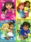 All of My Friends!: Dora and Friends Set of 4 (Board Books)