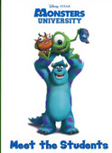 Meet The Students: Disney PIXAR Monsters University (Board Book)