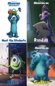 Disney Pixar Monster's Inc.: Monsters In A Box Set of 4 (Board Book)