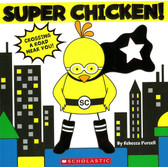 Super Chicken! (Board Book)