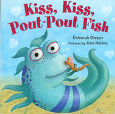 Kiss, Kiss, Pout-Pout Fish (Board Book)