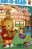 Daniel Visits the Library:  Daniel Tiger Ready To Read PRE-Level 1 (Paperback)