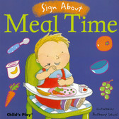 Z/CASE OF 40-Sign About Meal Time (Board Book)