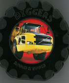 Diggers: Rough & Touch (Board Book)