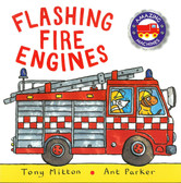 Flashing Fire Trucks (Paperback)