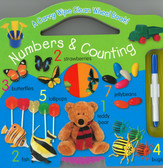 Numbers & Counting: A Wipe Clean Wheel Book (Board Book)