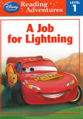 A Job For Lightning: Cars Reading Adventures Level 1 (Paperback)