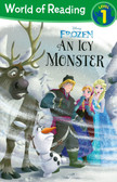 An Icy Monster: Disney Frozen Level 1 (Paperback)