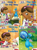 Doc on Call: Doc McStuffins Boxed Set of 4 (Board Book)