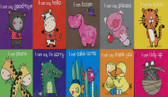 I Can Set of 10 (Chunky Board Book) 3 x 3 x .5 inches