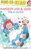 Day At The Fair: Raggedy Ann & Andy Ready-To-Read Level 3 (Paperback)