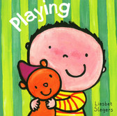Playing: Clavis Toddler (Board Book)