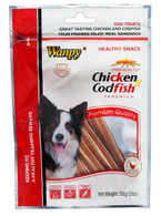 Wanpy Chicken and Codfish Sandwich 100g