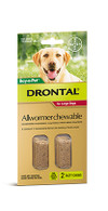 Drontal All Wormer Chewable Tablet Large Dogs 2 Pack