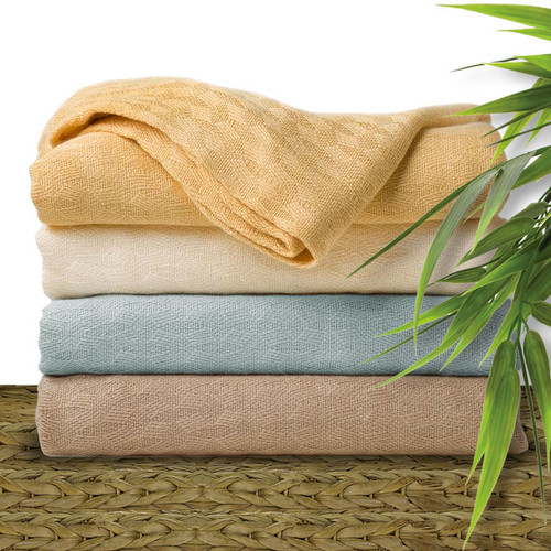 Natural Elegance Bamboo Blankets and Throws