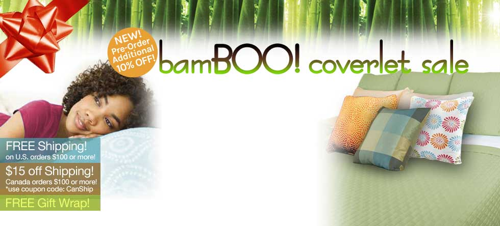 BamBOO Coverlet Pre-Sale!