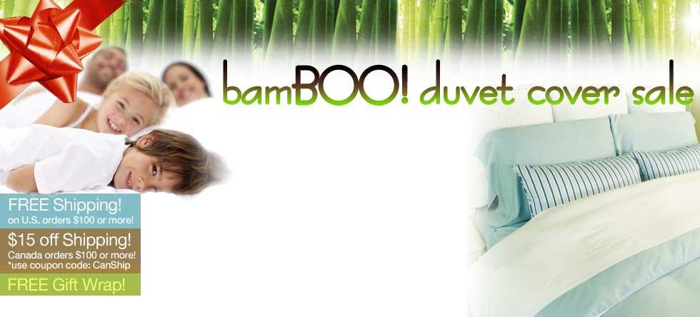 BamBOO Duvet Cover Sale!