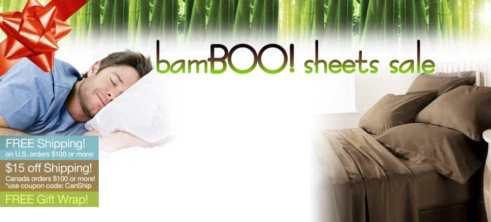 BamBOO Sheet Set Sale!