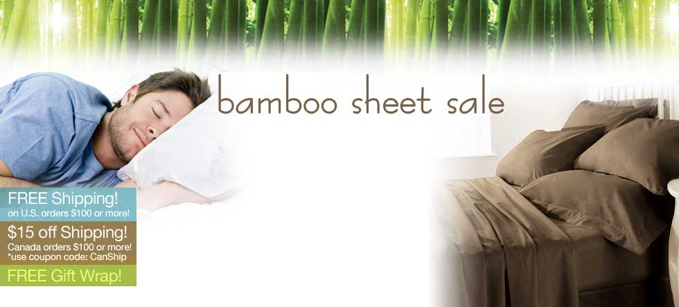 Christmas in July Bamboo Sheet Set Sale!