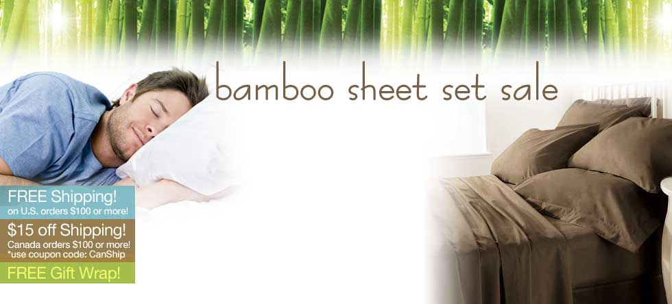 Fall Bamboo Sheet Set Sale!