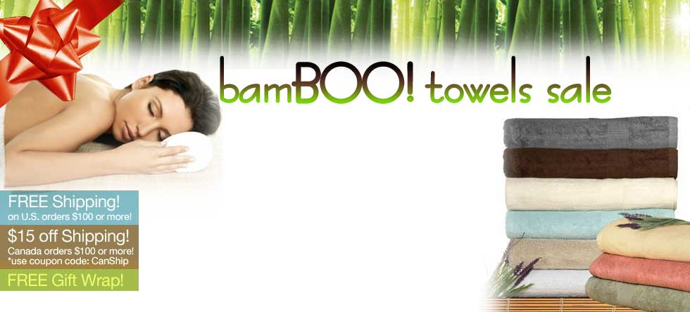 BamBOO Towels Sale!