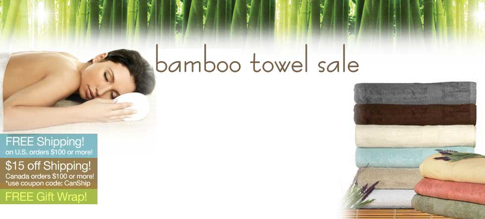 Fall Bamboo Towels Sale!