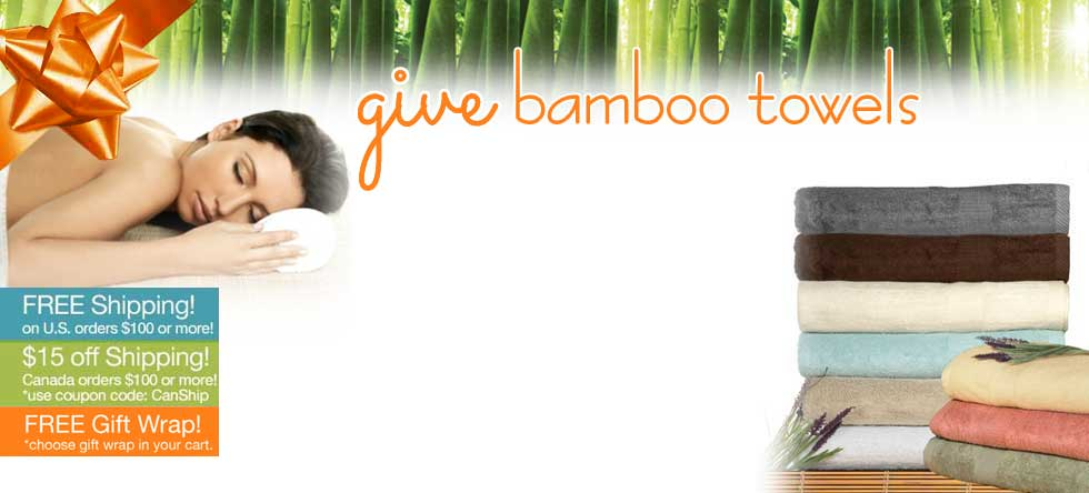 Give Thanks! Bamboo Towel Sale!