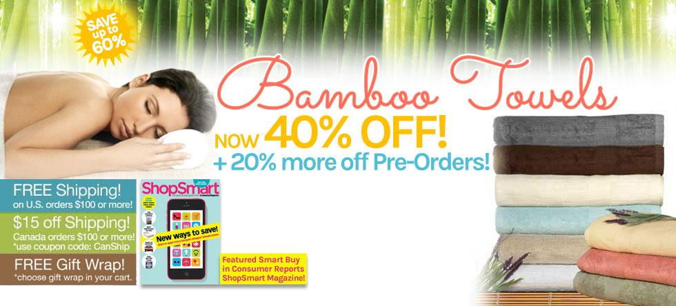 Summer Pre-Order Bamboo Towel Sale!