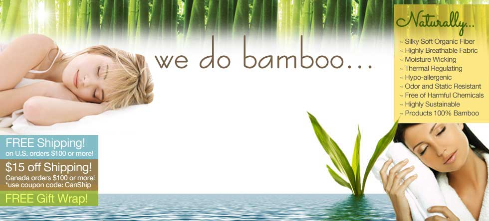 Fall Bamboo Bedding Sale!