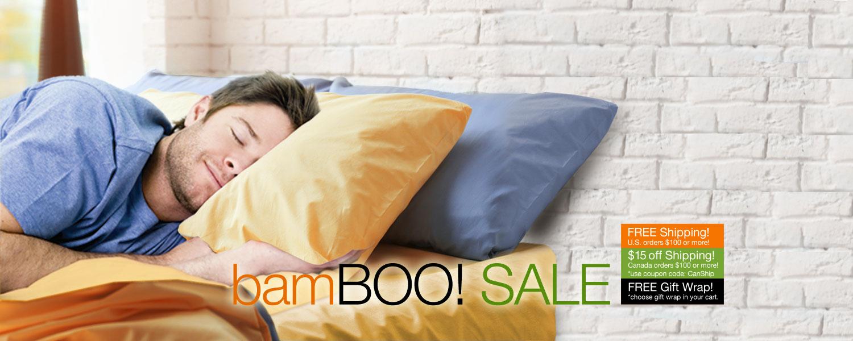bamBOO SALE! SPOOKTACULAR SAVINGS on bamboo sheet sets