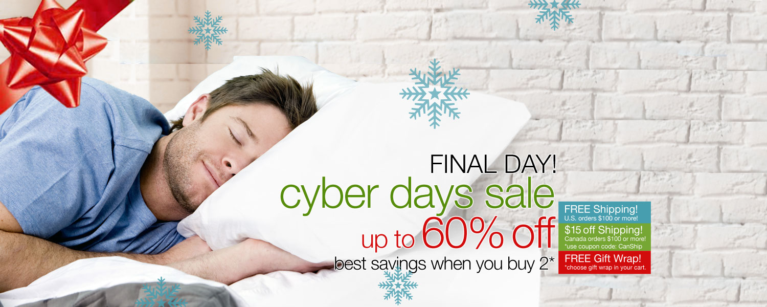 CYBER DAYS SALE! up to 60% OFF on bamboo sheet sets