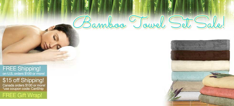 Christmas in July Bamboo Towels Sale!