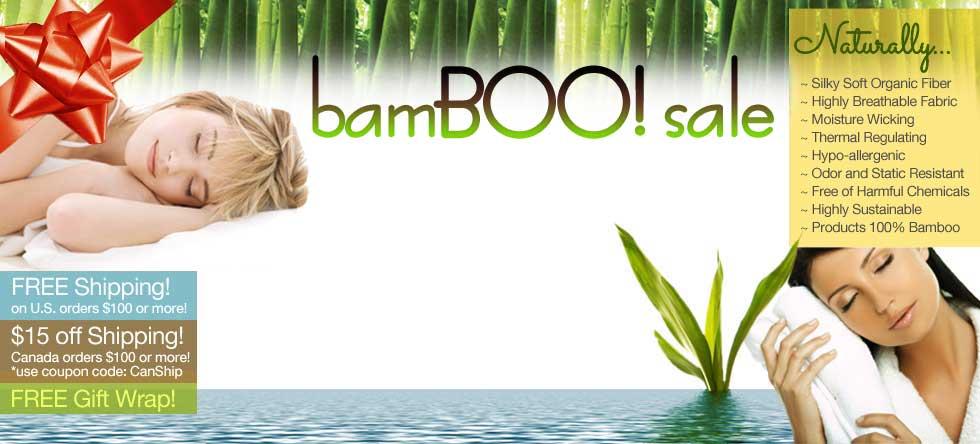 BamBOO Bedding Sale!