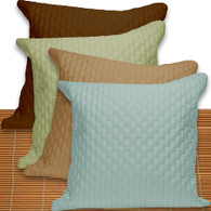Natural Elegance Bamboo Euro Pillow Sham