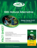 LAWN AND GARDEN 9KG FERTILIZER GREEN ACRES 5-1-5