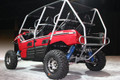 2012-13 Teryx 4 Seater Stainless Steel Exhaust System w/ Dual Polished Oval Aluminum Mufflers