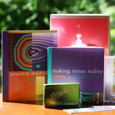 Meditation & Virtue Reality Kit - A complete KIT for self discovery, inner strength and positivity