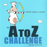 The A to Z Challenge - Go from negative to positive alphabetically