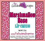 Marshmallow Rose Lip Balm