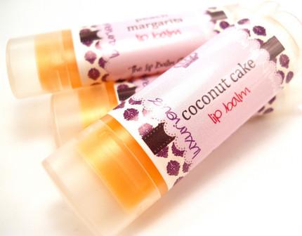 Coconut Cake Lip Balm by The Lip Balm Queen