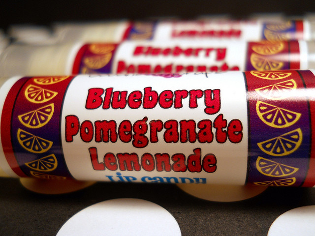 Blueberry Pomegranate Lemonade Lip Balm