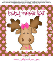 Baby Moose Lips Lip Balm - Timid