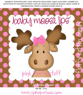 Baby Moose Lips Lip Balm - Pink Fluffy Stuff