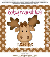 Baby Moose Lips Lip Balm - Baby Moose Poo