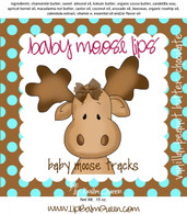 Baby Moose Lips Lip Balm - Baby Moose Tracks