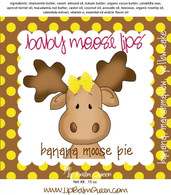 Baby Moose Lips Lip Balm - Banana Moose Pie