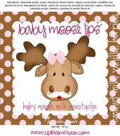 Baby Moose Lips Lip Balm - Baby Milk Moostache
