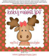 Baby Moose Lips Lip Balm - Malted Mango Mooseshake